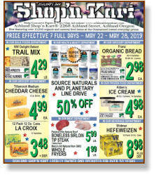 Ashland Shop'N Kart Weekly Flyer | Ads | Specials